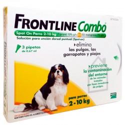 Frontline Combo Perros 2-10 Kg